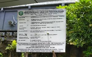 DPRD Kotim: Kualitas Proyek Drainase Jangan Asal-asalan