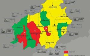Ini Sebaran ODP dan PDP Tanggal 5 April 2020 Tiap Kabupaten/Kota se-Kalteng