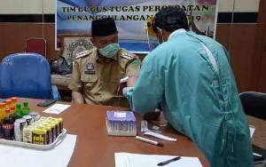 Bupati Sukamara Sampaikan Pemeriksaan Rapid Test Tidak Jamin Hasil Akurat