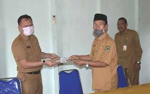 Wakil Bupati Kapuas Pimpin Serah Terima Jabatan Plt Kepala Dinas Ketahanan Pangan