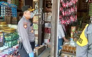 Polresta Palangka Raya Cek Ketersediaan Sembako di Pasar Besar