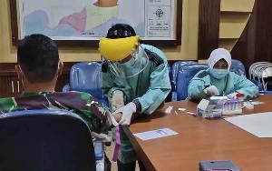 Pemeriksaan Rapid Test Bagi Unsur Forkopimda Sukamara Berlanjut