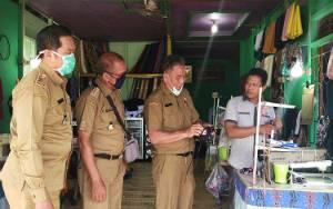 Disperindagkop Murung Raya Gandeng UKM Produksi Masker