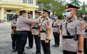 9 Pejabat Utama Polres Kotim Dimutasi, kok