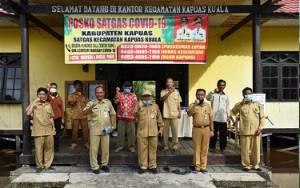 Dipercaya Jadi Plt Camat Kapuas Kuala, Inop Siap Lanjutkan Cegah Covid-19