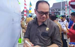 Wakil Ketua Komisi C DPRD Palangka Raya Harapkan Warga Patuhi Imbauan Gunakan Masker