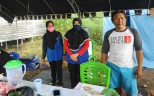 Relawan Desa Kartika Bhakti Dirikan Posko Pemantauan Covid-19