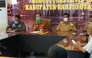 Juru Bicara Covid-19 Barito Utara Tegaskan Penanganan PDP Tanggung Jawab Provinsi Kalteng