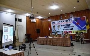 Bupati Kapuas Ikuti Video Conference Bersama Menteri Dalam Negeri