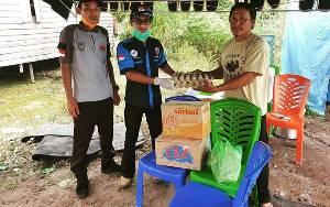 FASI Seruyan Serahkan Bantuan Posko Relawan Covid-19