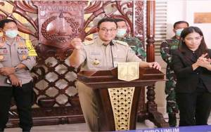 Jumat 10 April Jakarta Terapkan PSBB