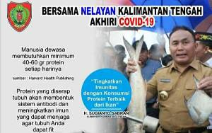 Masyarakat Kalteng Diimbau Konsumsi Sayur dan Buah agar Tingkatkan Imun Tubuh Supaya Terhindar Covid-19