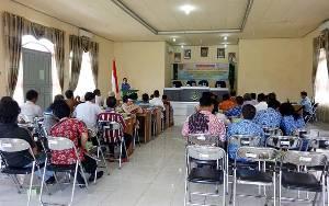 KUA Sukamara Tidak Layani Pendaftar Baru Selama Pandemi Covid-19