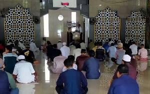 Sejumlah Masjid di Sampit Sudah Tiadakan Salat Berjamaah Sementara
