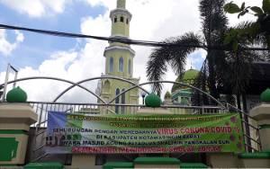 Cegah Corona, Masjid Agung Pangkalan Bun tak Gelar Salat Jumat