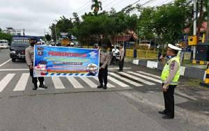 Satlantas Polres Kapuas Aktif Imbau Masyarakat Patuhi Aturan Lalu Lintas