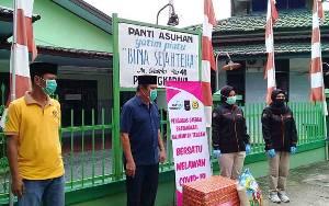 Bhayangkari Polda Kalteng Bagikan Sembako ke Panti Asuhan dan Pondok Pesantren