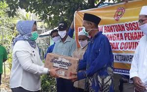 Bantuan Sembako untuk Warga Kobar Tidak Boleh Dititipkan