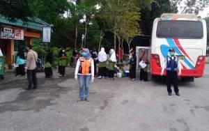 Pulang Kampung Dari Pesantren di Martapura, 44 Santriwati Diminta Lakukan Karantina Mandiri
