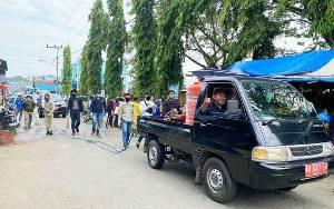 Pemkab Barito Utara Bersihkan Sampah Pasca Banjir