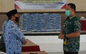 Sembako Pasar Murah Pemkab Lamandau Akan Dibeli dari Pedagang Lokal Demi Jaga Stabilitas Harga dan Inflasi