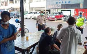 Satlantas Polres Seruyan Ingatkan warga Untuk di Rumah Saja