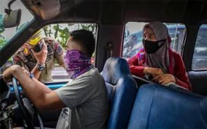 PSBB Tangerang Berlaku, Keramaian Pasar Anyar Mendadak Berkurang
