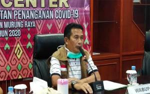 Wakil Bupati Murung Raya Khawatir Lonjakan Kasus Covid-19 Fase Kedua
