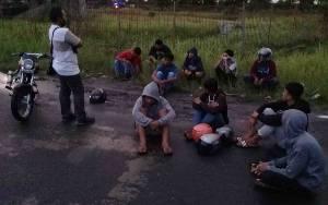 Polisi Amankan Puluhan Remaja Balap Liar di Sebangau