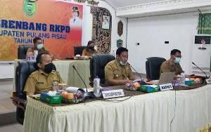 Pemkab Pulang Pisau Gelar Musrenbang RKPD Secara Online