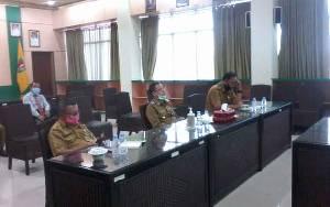 Bupati Katingan Pimpin Musrenbang RKPD Melalui Video Conference