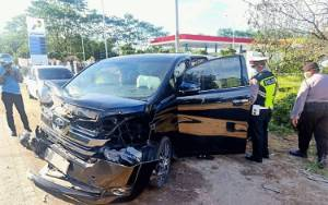 Ini Kronologis Kecelakaan Mobil Mewah di Pulang Pisau
