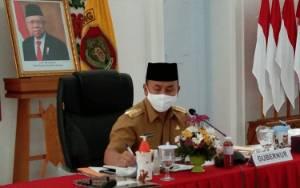 Gubernur Kalteng Minta Masukan dari Dewan Riset Daerag dan Akademisi untuk Atasi Dampak Covid-19