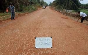 DPRD Sukamara Sarankan Pengerjaan Jalan Panjang Harus Dengan Perencanaan Matang