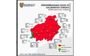 Pulang Pisau Masih Berstatus Siaga Darurat Meski Sudah 5 Positif Covid-19