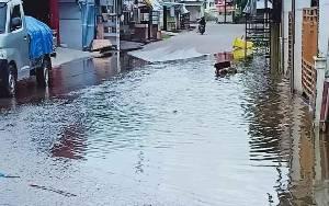 Sejumlah Kawasan di Kota Muara Teweh Mulai Terendam Banjir