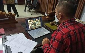 DPRD Seruyan Gelar Paripurna Melalui Video Conference