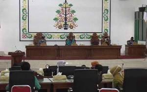 Ketua DPRD Sukamara Harapkan Anggota Tingkatkan Gairah Kerja di Tengah Pandemi Covid-19