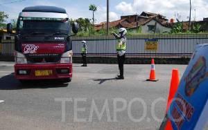 Polisi Sudah Paksa Balik 8.709 Kendaraan Mau Mudik