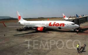Penjelasan Lion Air Soal Pesawat JT173 Tergelincir di Bandara Radin Inten II