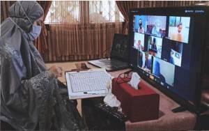 Wakil Bupati Seruyan Lakukan Tadarus Al Quran Online