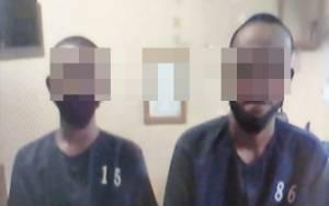 Dua Karyawan Ini Tepergok Saat Mencuri Sawit Ketiga Kali