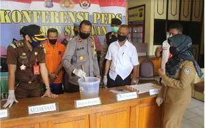 Sabu Seberat 1,19 Gram Milik Warga Tanjung Hara Dimusnahkan