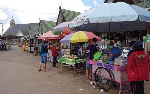 Posko Siaga Covid-19 Pasar Tamiang Layang Tak Ada Petugas