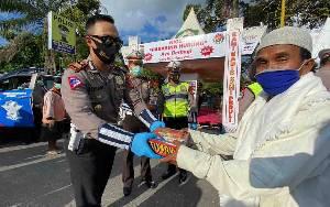 Kios Habaring Hurung Polres Kotawaringin Timur Diserbu Warga