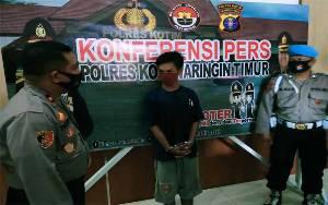 Polisi Ungkap Pencurian Motor di Sampit Melalui Rekaman CCTV