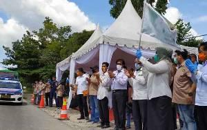 Video Bupati Kobar Lepas Pendistribusian Zakat H Abdul Rasyid AS Ke 5 Kabupaten
