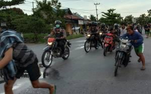 Polisi Tangkap Belasan Pelaku Balapan Liar di Palangka Raya