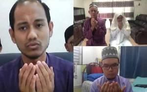 Pasangan di Malaysia Menikah Secara Virtual karena Covid-19