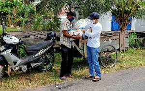 Sosok Sugianto Sabran Dikenal Senang Membantu Masyarakat